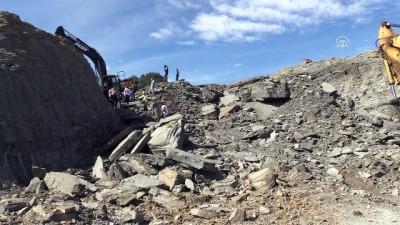Hastane inşaatında göçük: 1 ölü, 1 yaralı - BARTIN