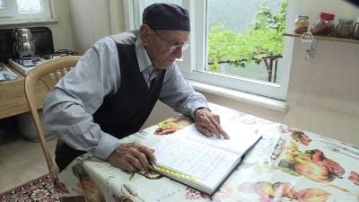 İsmail dede köyünün 'tarihçisi' - GİRESUN
