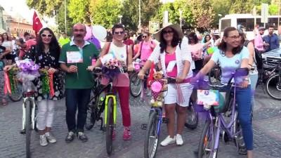 'Süslü Kadınlar Bisiklet Turu' etkinliği - EDİRNE/TEKİRDAĞ