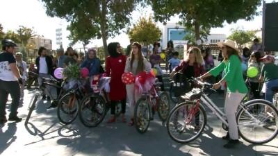 'Süslü Kadınlar Bisiklet Turu' etkinliği - ELAZIĞ