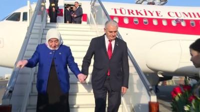 baskent -  - TBMM Başkanı Yıldırım, Özbekistan'da
