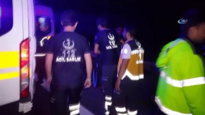 trafik kazasi -  TEM'de feci kaza 5 yaralı