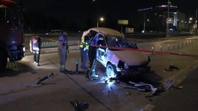 trafik kazasi - Trafik kazası: 3 yaralı - BURSA