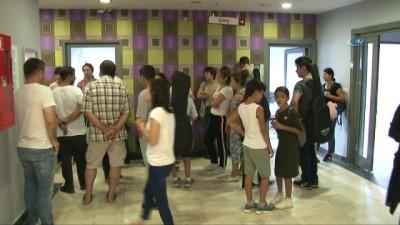 Yüzlerce çocuk Sulukule Sanat Akademisi'nde eğitim alabilmek için hünerlerini sergiledi