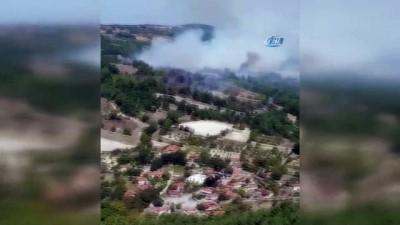 trol -  Balıkesir'de ormana sıçrayan yangın kontrol altına alındı