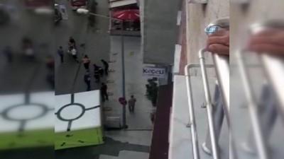 cep telefonu -  Bunalıma girdiği iddia edilen genç kadın 5. kattan atladı, asfalt zemine böyle çakıldı