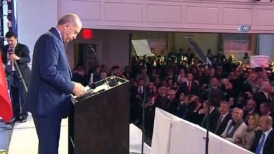 """Cumhurbaşkanı Erdoğan: """"Suriye halkını özgürlük hareketinde yalnız bırakmadık"""""""