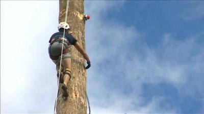 Direk tırmanışçıları İngiltere'de buluştu