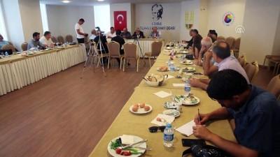 basin toplantisi - Edirneli esnafa yabancı turist uyarısı Haberi