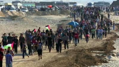 mermi - Gazze'deki Büyük Dönüş Yürüyüşü gösterileri devam ediyor (2)