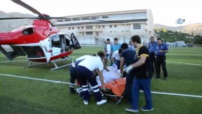 yasli kadin -  Kalp krizi geçiren kadının imdadına helikopter de yetişemedi