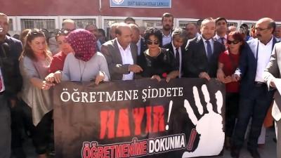 gecmis olsun - Kırıkkale'de öğretmene şiddet protesto edildi