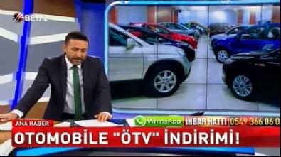 Otomobile 'ÖTV' indirimi