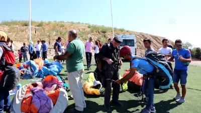 Şehit aileleri ve gaziler 'beyaz cennet' üzerinde uçtu - DENİZLİ