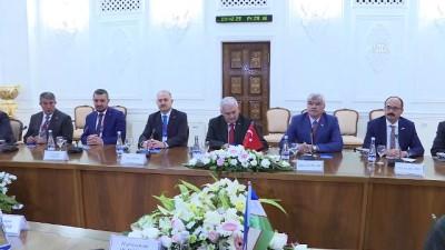 baskent - TBMM Başkanı Yıldırım Özbekistan'da - TAŞKENT