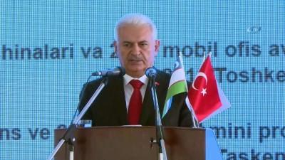 """- TBMM Başkanı Yıldırım: """"Suriye ve Irak'taki istikrarsızlığın en büyük bedelini Türkiye ödedi"""" - """"Bizim için Ankara neyse Taşkent de odur"""""""