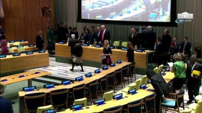 - Trump BM toplantısında uyuşturucu problemi üzerine konuşma yaptı - Trump'dan dünya liderlerine uyuşturucu ile mücadele çağrısı