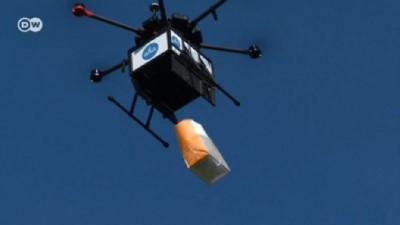 Yemeğinizi drone ile alır mısınız?