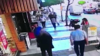 yasli kadin -  Yaşlı kadın tezgahta unutulan cüzdanı böyle çaldı
