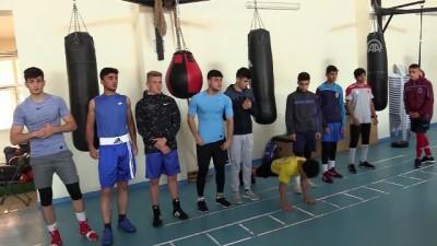 Yıldız milli boksörlerin kampı başladı - KASTAMONU