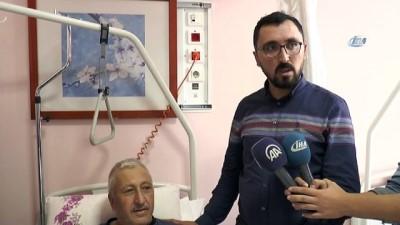 Böbreğindeki kanserli kiste tesadüfen rastlanan hastaya robotik müdahale