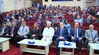 """- Diyanet İşleri Başkanı Erbaş: """"İstismarcı yapılarla mücadelemiz artarak devam edecek"""""""