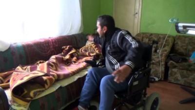 Engelli adam, 15 yıl önce boşandığı eşinin açtığı dava ile zor günler yaşıyor