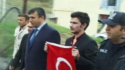 Ermenistan'da tutuklanan Umut Ali Türkiye'ye getirildi