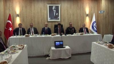 İstanbul Valisi Şahin, 2018-2019 akademik yılı koordinasyon ve değerlendirme toplantısına katıldı