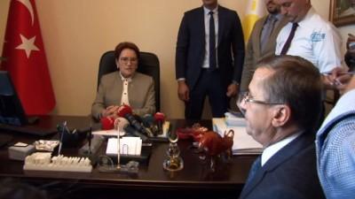 İYİ Parti Genel Başkanı Meral Akşener: 'Af iyidir kötüdür dışında çok ciddi Türkiye'yi sarsacak alanların bulunduğu bir teklif'