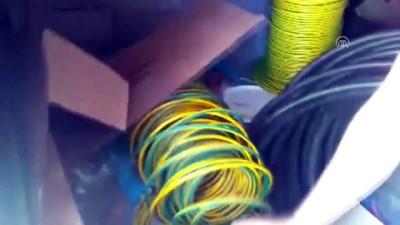 Kablo hırsızlığı operasyonu - KONYA