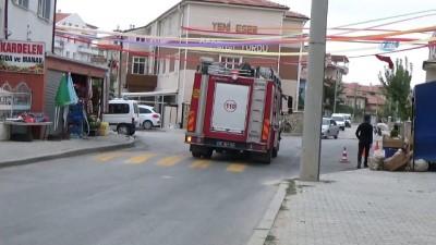 saglik ekibi -  Karaman'da çakmak gazı patladı: 2 çocuk yaralı