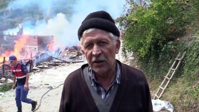 itfaiye araci - Kastamonu'da yangın (4)