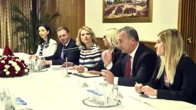 TBMM Dışişleri Komisyonu Başkanı Bozkır'ın kabulü