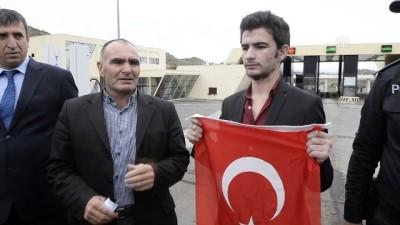 Umut Ali Özmen Türkiye'ye döndü (2) - ARDAHAN
