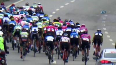 211 Kilometre pedal çevirerek yarıştılar