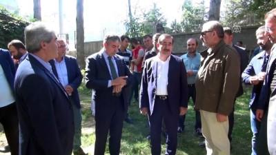 AK Parti Bitlis Milletvekili Taşar, projeleri inceledi - BİTLİS