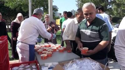 AK Parti'li Jülide Sarıeroğlu'ndan aşure ikramı - ADANA