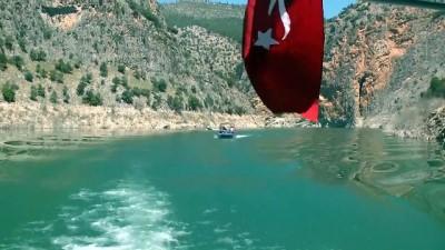 Arapapıştı Kanyonu'nda sular çekildi - AYDIN
