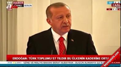recep tayyip erdogan - Başkan Erdoğan'dan Steinmeier'a muhteşem kapak