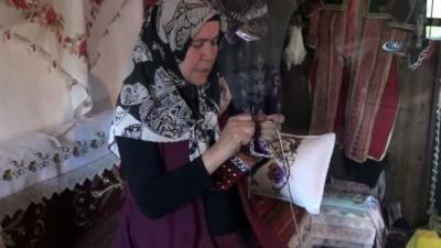 Çankırı'da 5 şiş örme tekniği unutulmaya yüz tutuyor