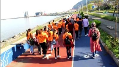 Çemişgezekli öğrenciler Karadeniz'i gezdi