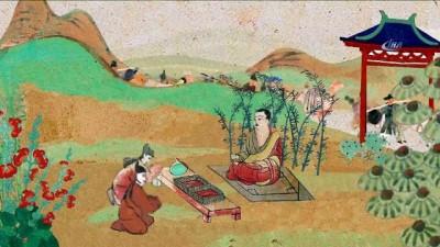 rahip -  - Çin'de Dunhuang Freskleri İpek Yolu'na Hayat Verdi