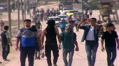 mermi - İsrail'in, Gazze sınırında düzenlenen 'Büyük Dönüş Yürüyüşü' gösterileri (1)