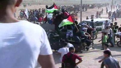 mermi - İsrail'in, Gazze sınırında düzenlenen 'Büyük Dönüş Yürüyüşü' gösterileri (2)