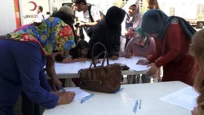 Mardinli kadınlar kan bağışında bulundu