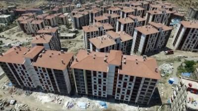 Terör mağdurları yeni konutlarına kavuşmak için gün sayıyor... Yeniden inşa edilen Şırnak havadan görüntülendi