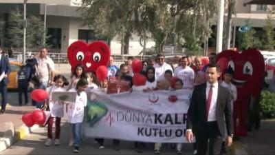 29 Eylül Dünya Kalp Günü'nde sağlık için yürüdüler