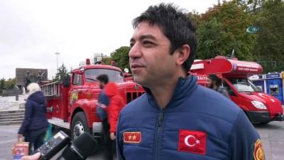 """""""Ankara itfaiyesi"""" vatandaşı bilgilendiriyor"""