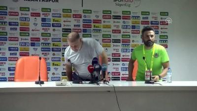 devre arasi - Aytemiz Alanyaspor-Akhisarspor maçının ardından - ANTALYA